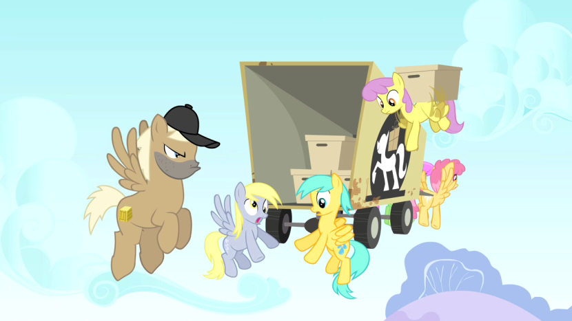 830px-Derpy_Hooves_movers_truck_after_dropping_items_S1E15