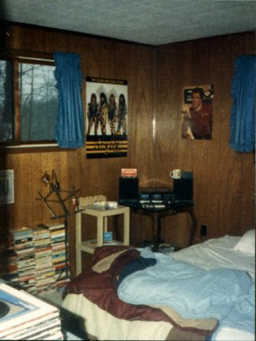 DJ's room from when he was in high school
