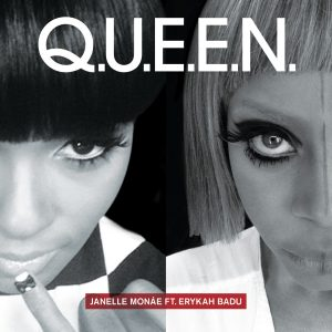 Cover art of Q.U.E.E.N. single