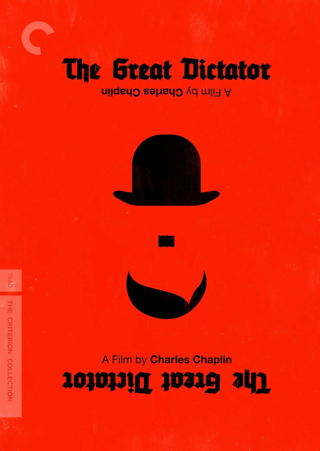 The Criterion Collection edition of The Great Dictator.