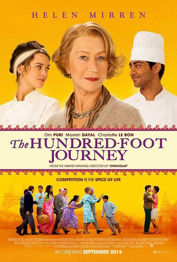 the hundred foot journey cast