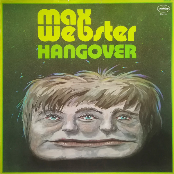 max webster hangover front cover