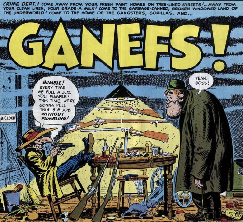ganefs! mad #1