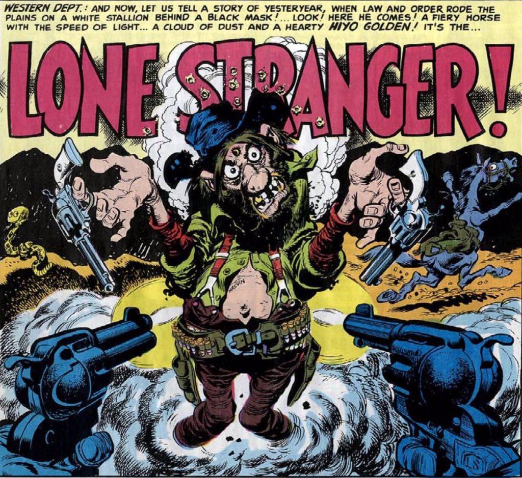 lone stranger Mad #3