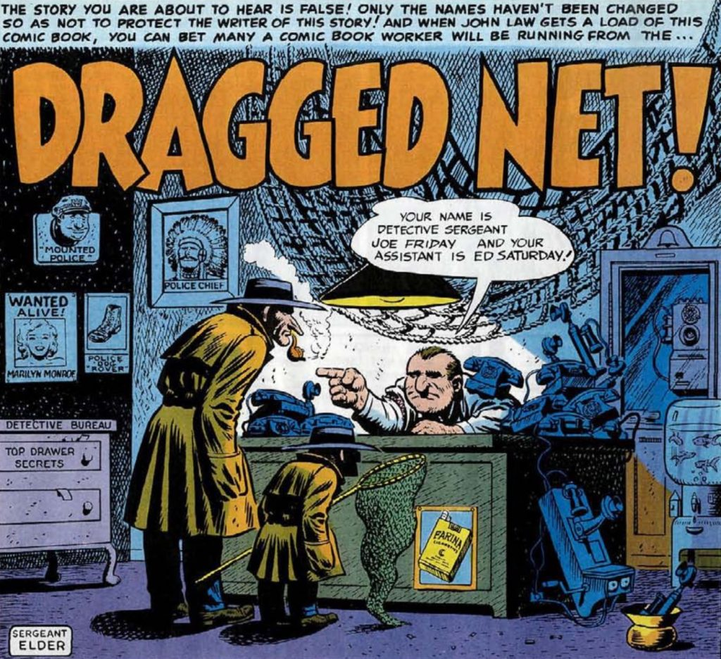 mad #3 dragged net!