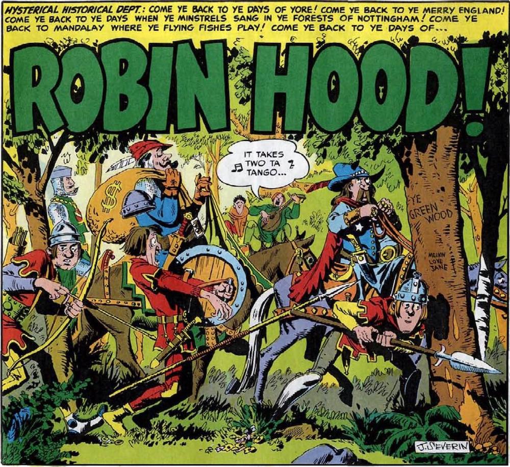 mad #4 robin hood