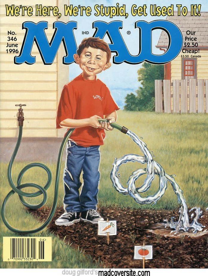 MAD #346 cover