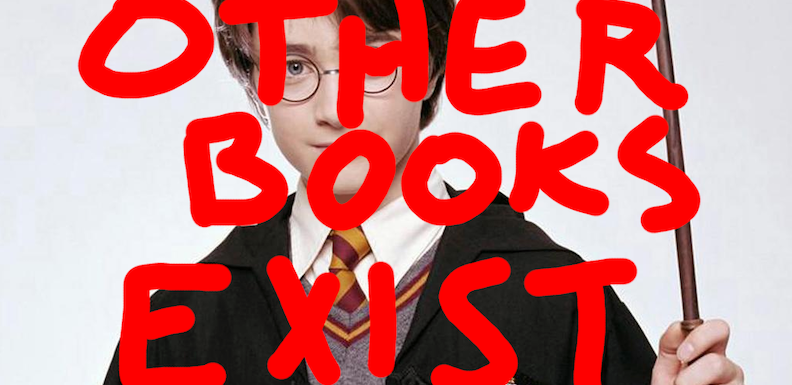 Reed Gud, Part 1, or Other Books Than 'Harry Potter' Exist: Fiction