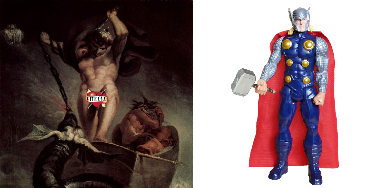 The Tragedy of the Creative Commons: On Superheroes and Modern Mythology